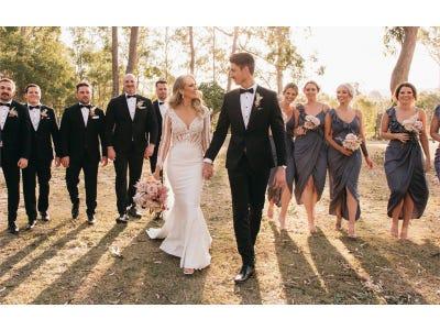 Pronovias Bride | Hayley & Brandom