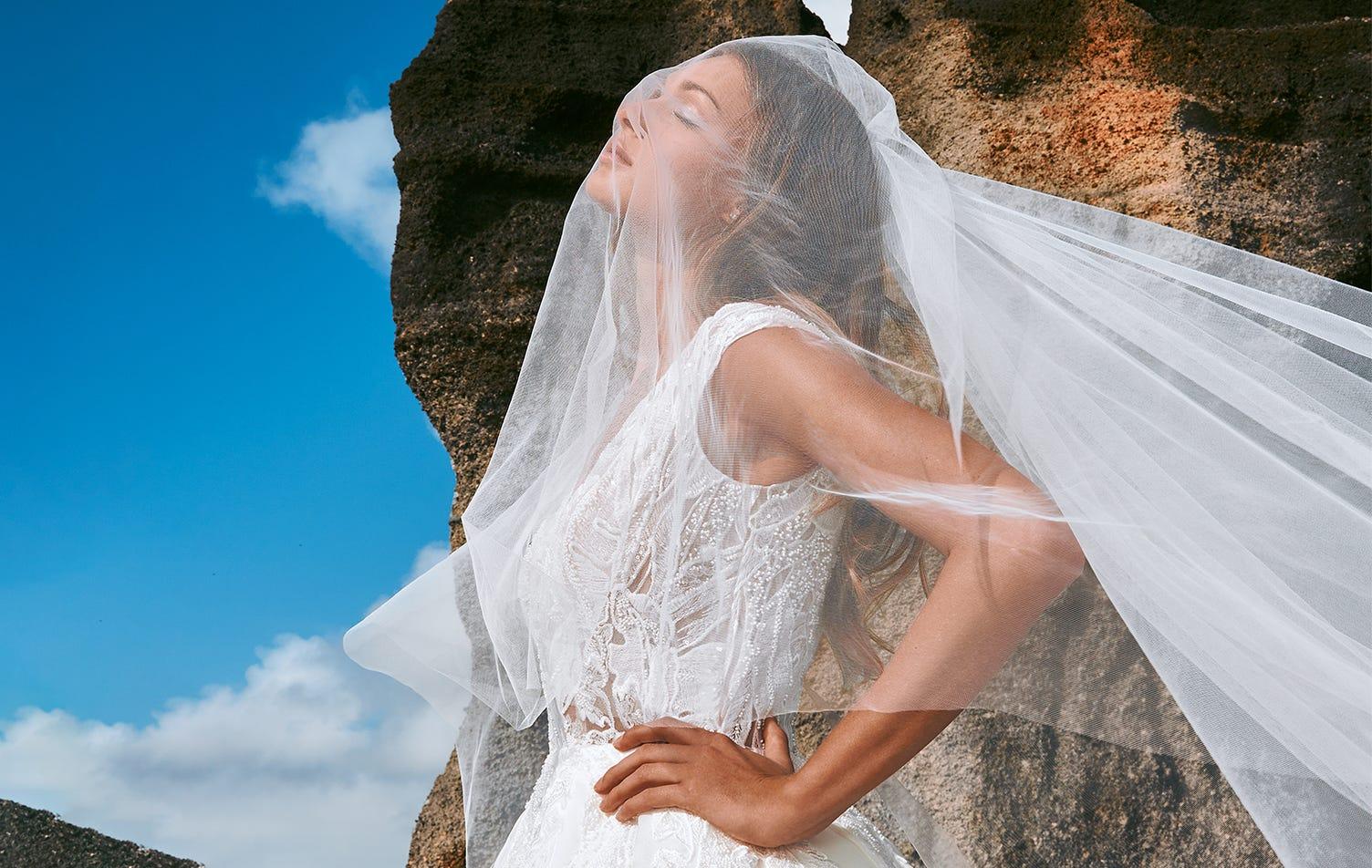 Cómo elegir un velo de novia