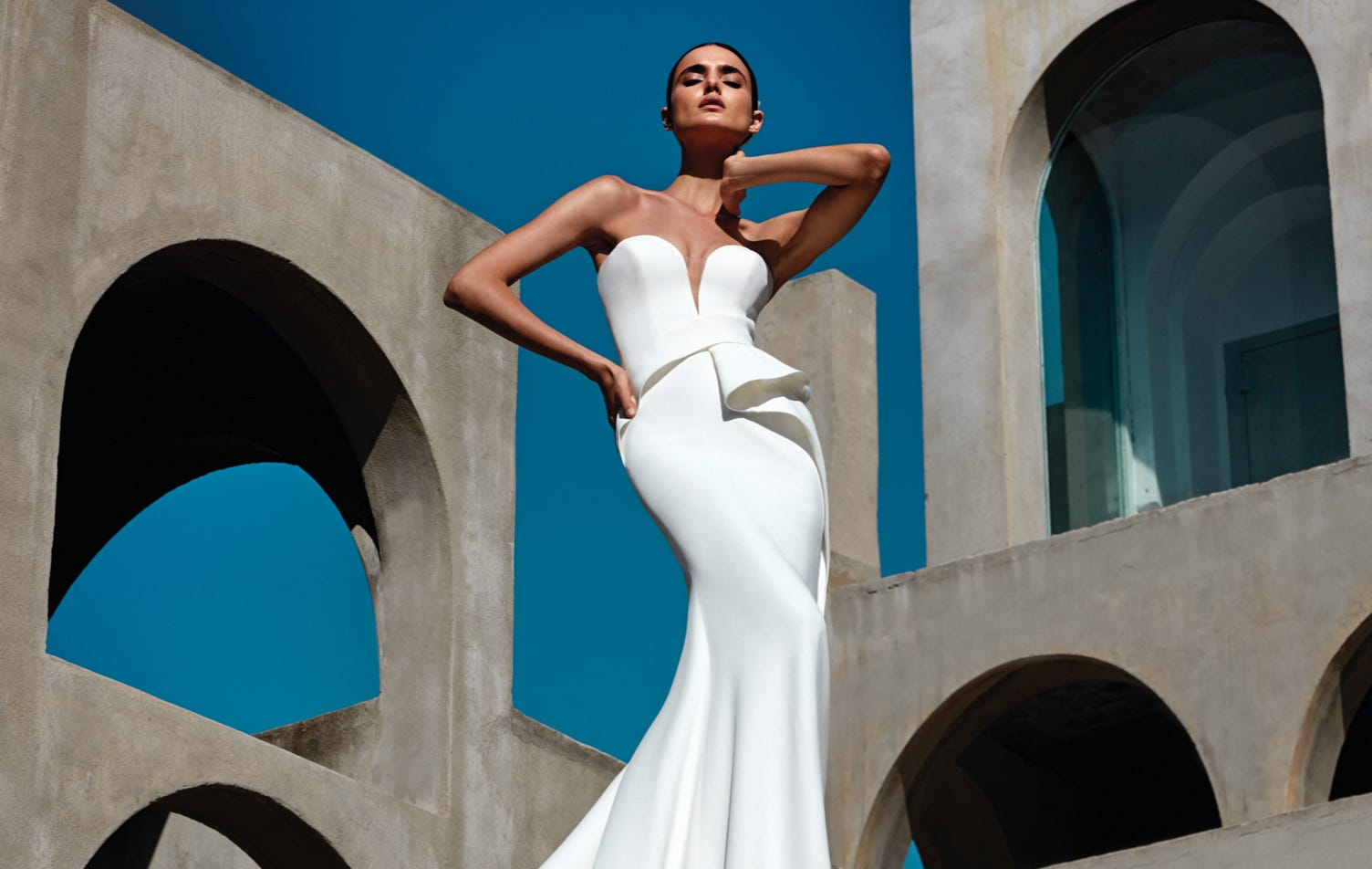 Bridal Looks For Small Weddings From Pronovias