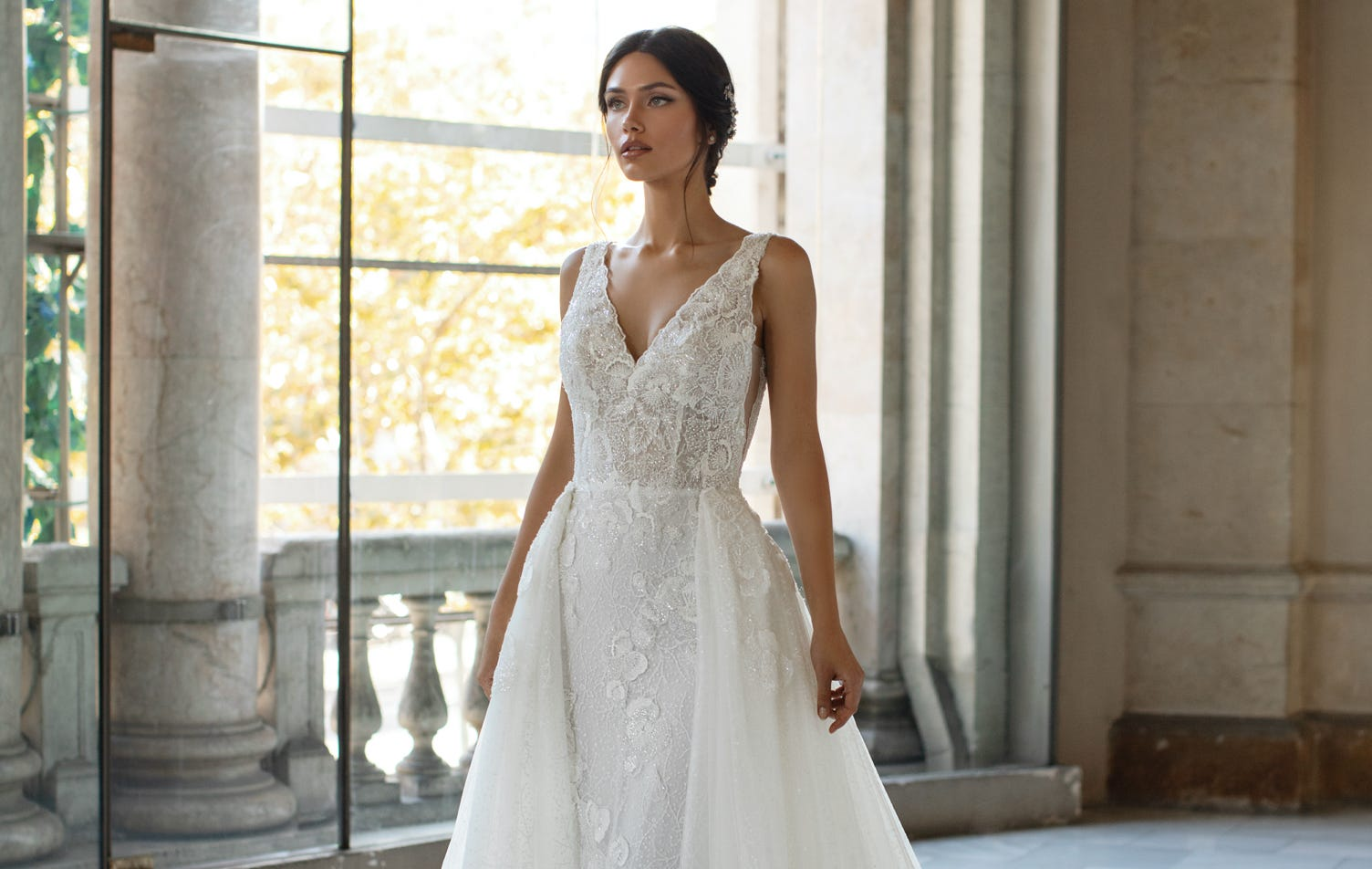 The convertible wedding dress? Yes, it's a thing!