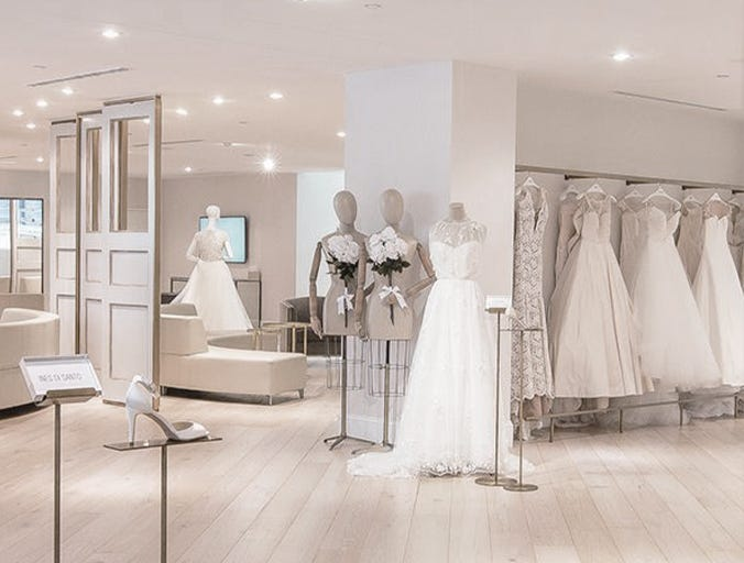 Shopping for Wedding Gowns