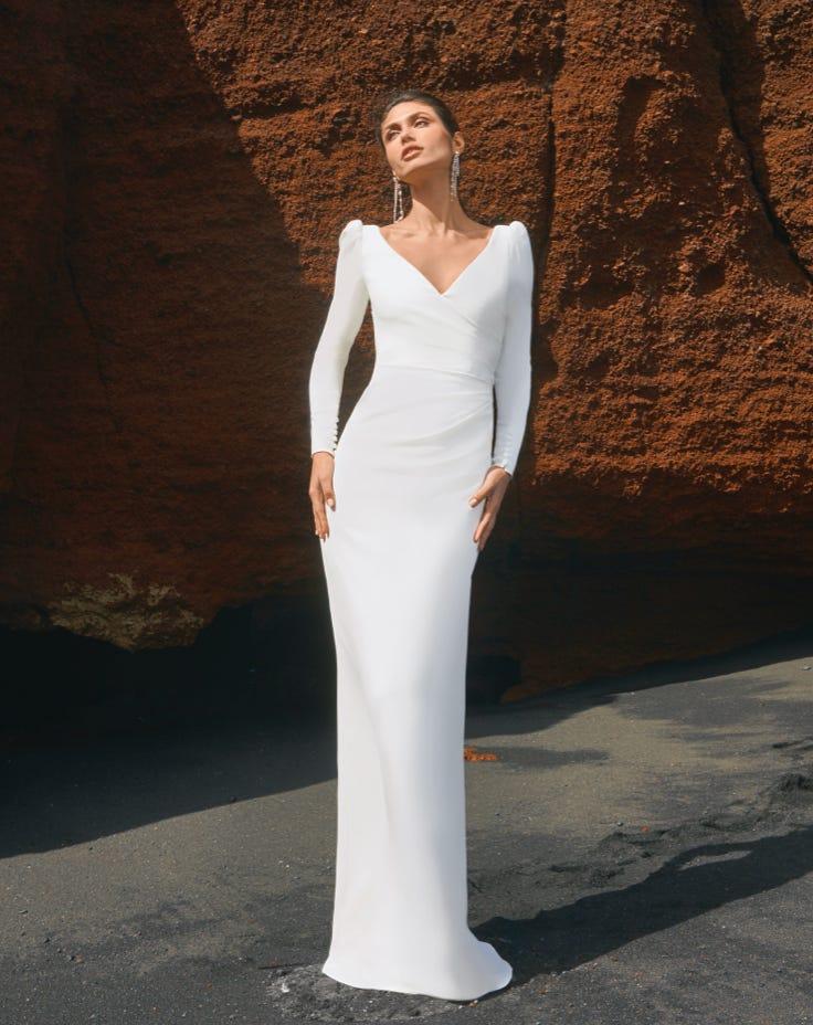 White Wedding Dress Spain